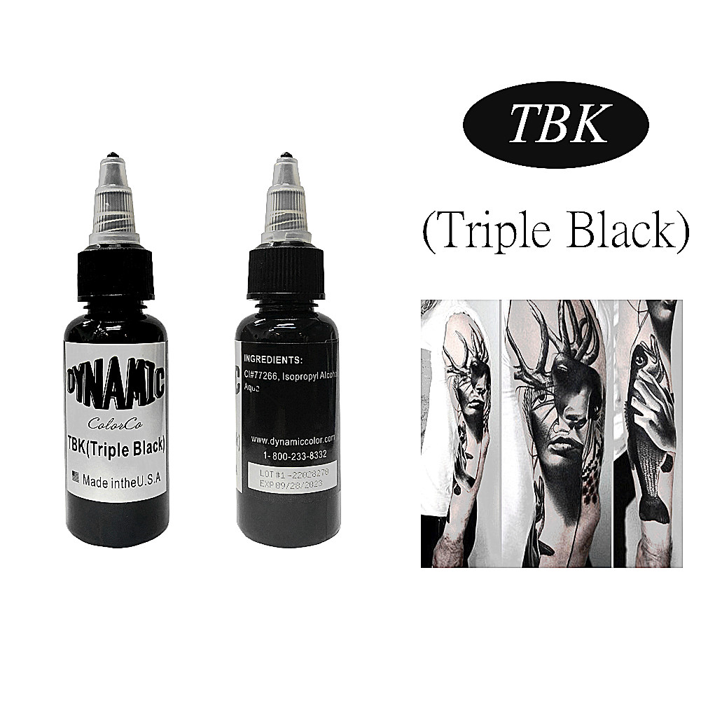 High Quality Version Of Permanent Dynamic Black Tattoo Ink Tribal Tattoo Color 250ml