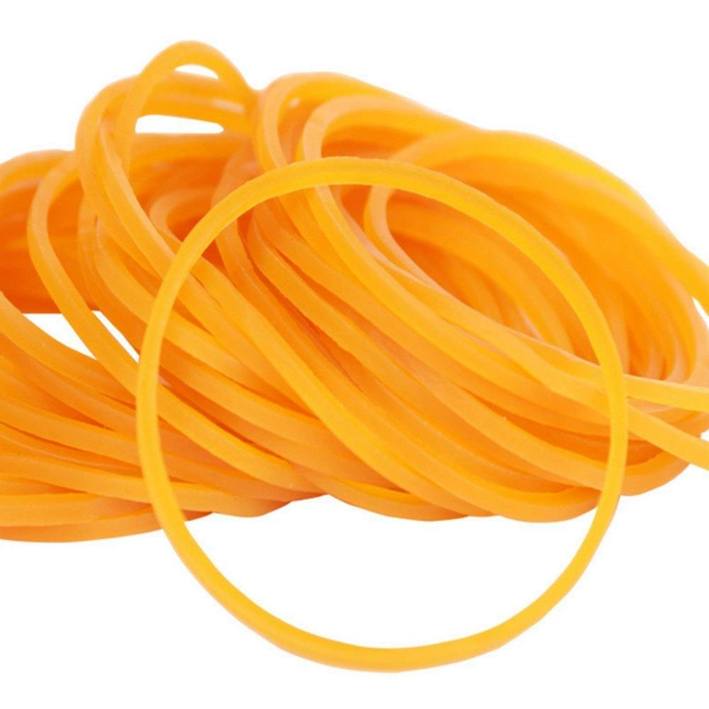 50/100/200pcs Rubber Bands, Bank Paper Bills Money Dollars Elastic Stretchable Bands, Sturdy General Purpose Rubber Band