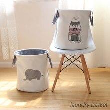Folding Laundry Basket Round…