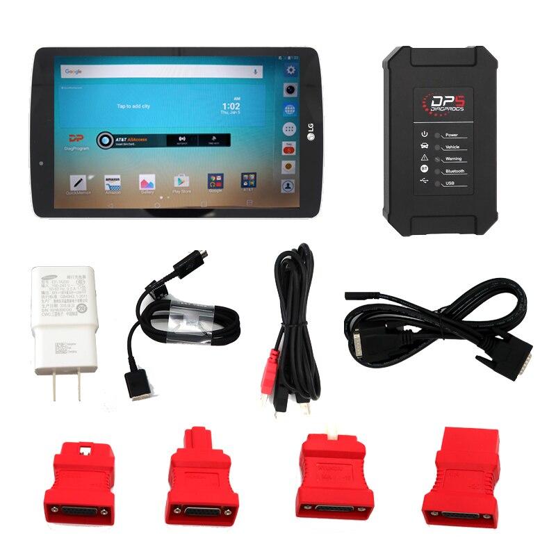 SUPER DP5 dirgprog5 dp5 sistema automático de diagnóstico programador chave do carro ferramenta de reset odômetro Sem Bluetooth