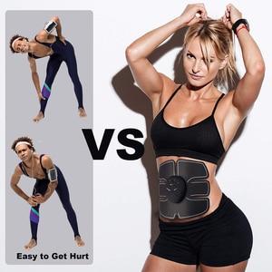 Image 5 - 電気筋肉刺激 ems ワイヤレスヒップ臀部トレーナー腹部腹筋フィット刺激体重減少