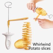 Potato-Cutter Bbq-Accessories Kitchen-Gadgets Vegetable-Spiralizer 1set