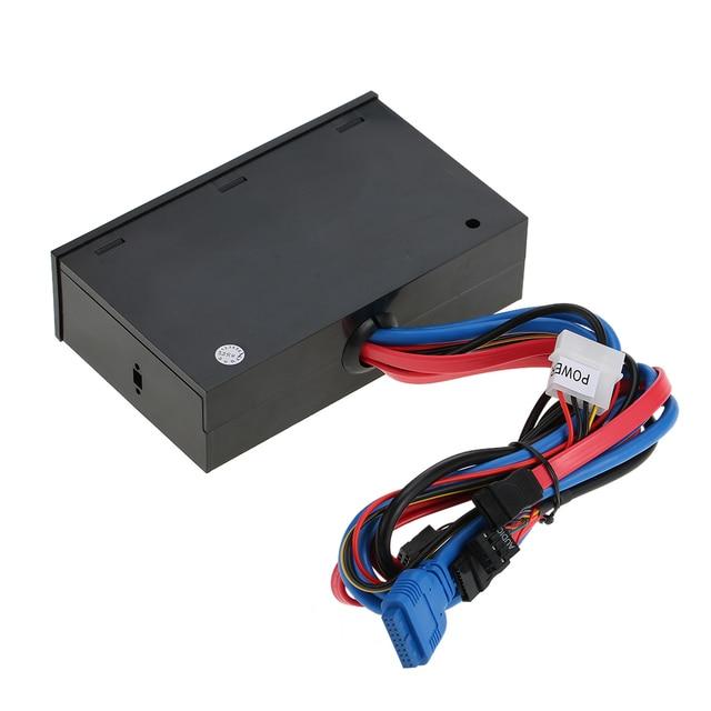 Multi-Function Card Reader USB 3.0 Front Panel Hub eSATA SATA Port Internal Card Reader PC Dashboard Media Front Panel Audio 4