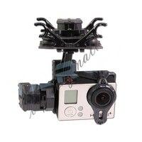 Tarocchi T4-3D TL3D02 Giunto Cardanico per Gopro Hero4/3 +/3 Macchina Fotografica di Sport Doppio Ammortizzatore PTZ FAI DA TE Drone FPV