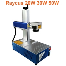 raycus 20W 30W all in one fiber larse engraving marking machine for stainless steel metal CNC 200x200mm 110x110mm