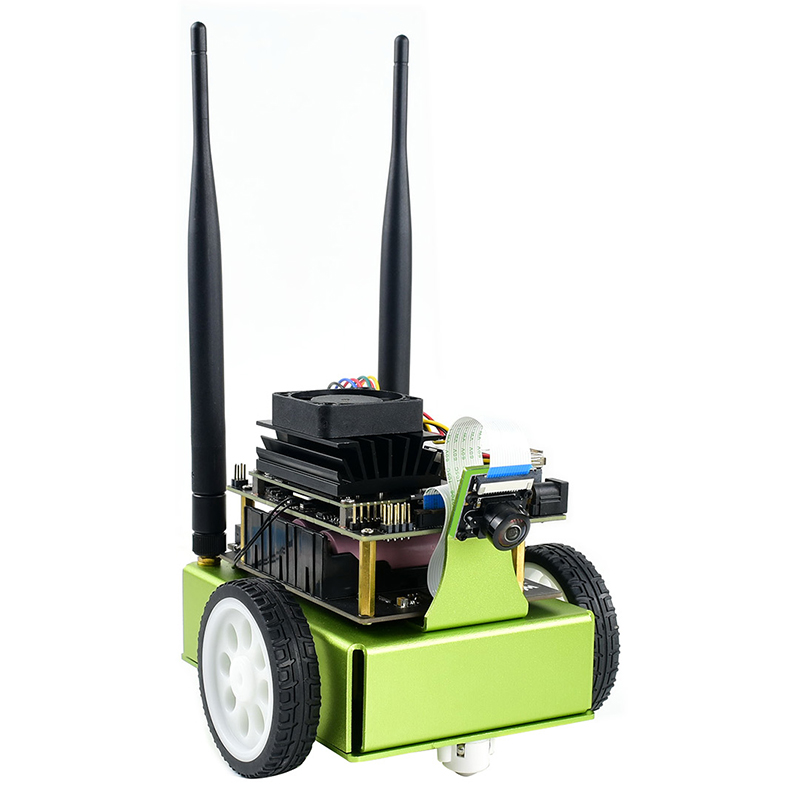 JetBot AI Kit AI Robot Based On NVIDIA Jetson Nano Facial Recognition Object   Tracking Artificial Intelligence Robot Car Kit