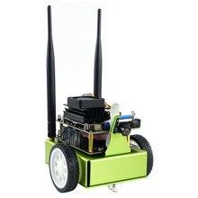 Jetbot ai kit robô baseado em nvidia jetson nano reconhecimento facial objeto de rastreamento inteligência artificial robô carro kit