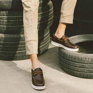 Image 5 - Модные мужские повседневные кроссовки Youpin FREETIE из бычьей кожи с износостойкой резиновой подошвой