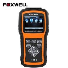 Foxwell nt520 pro sistema completo obd2 scanner abs srs sas bms dpf epb redefinição de óleo injector codificação auto obd odb 2 ferramenta diagnóstico do carro