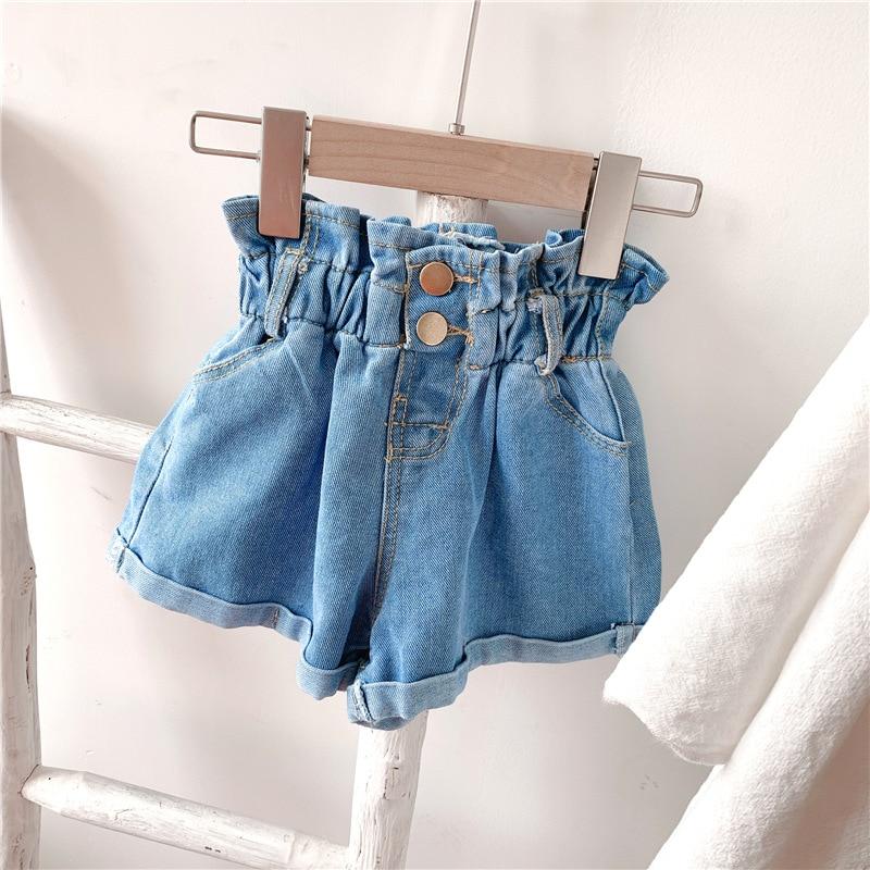 2020 Girl Summer  Kids Children Fashion Hot Jeans Denim Shorts Three Colors 4