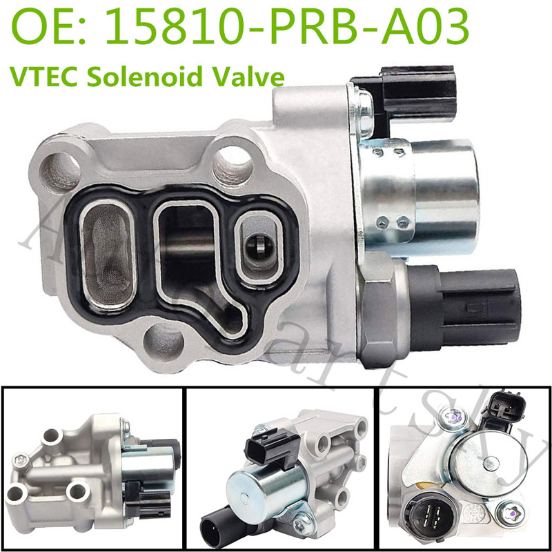 1pcs NEW VTEC Solenoid Spool Valve for Honda Element Civic Acura RSX 15810RAAA03