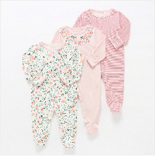 H90caf637837f499eb5fadce9de559c6e4 Baby Girl Romper Newborn Sleepsuit Flower Baby Rompers 2019 Infant Baby Clothes Long Sleeve Newborn Jumpsuits Baby Boy Pajamas