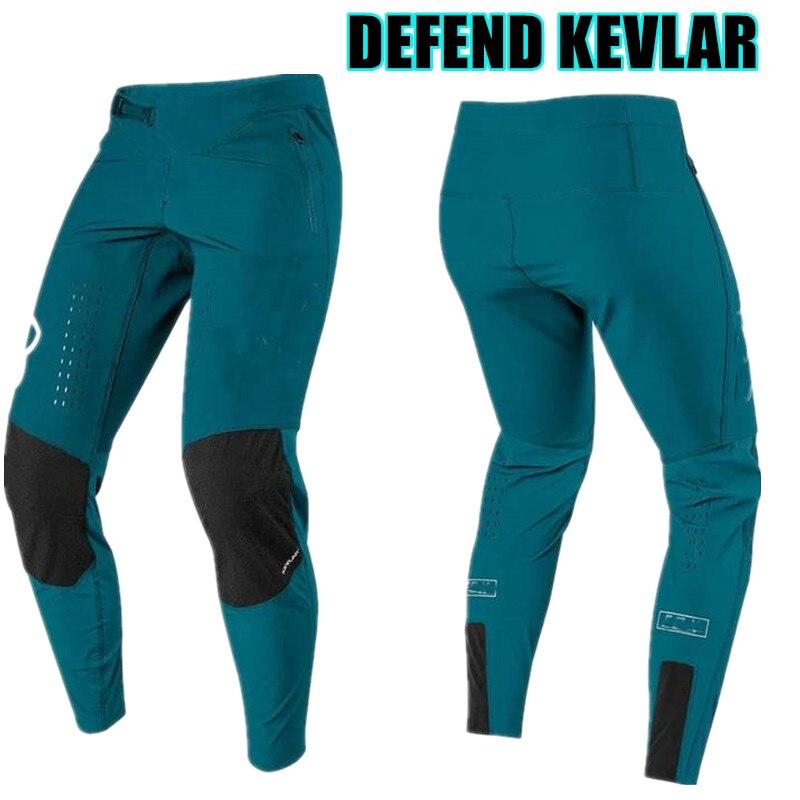 2020 Newest STREAM FOX Defend Kevlar Mountain Bike Pant Ride MTB Pant Bike Warm XC Cycling Pant