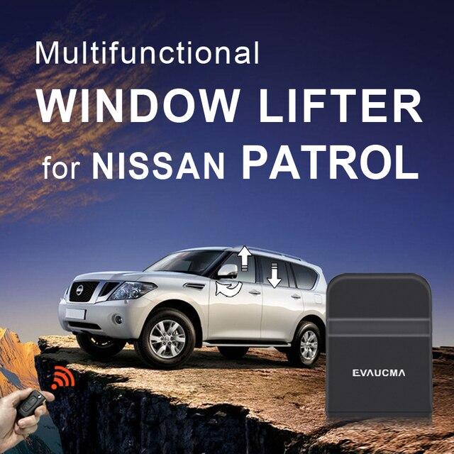 Originele Auto Venster Dichterbij Venster Sluiten/Opening Spiegel Vouwen/Opening Voor N Nissan Patrol Auto Alarm Accessoires