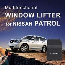 Oryginalny samochód moc zamknięcie do okna okno zamykanie/otwieranie lustro składane/otwarcie dla N issan Patrol Alarm samochodowy akcesoria