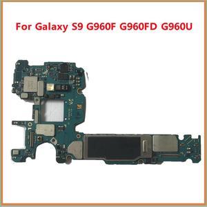 Image 3 - BINYEAE 64GB 128GB Scheda Madre Sbloccato Per Samsung Galaxy S9 G960F G960FD G960U S9 PIÙ G965F G965FD Mainboard Pulito IMEI