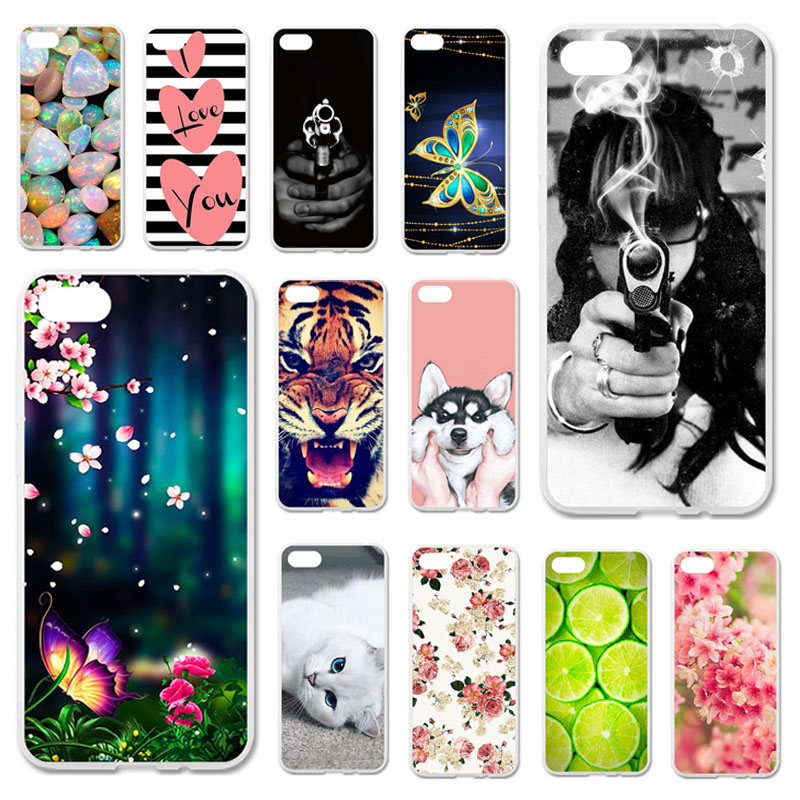 Phone <font><b>Cases</b></font> For Huawei Y5 Lite 2018 Y5 Prime 2018 Covers For Huawei <font><b>Honor</b></font> 7A <font><b>DUA</b></font>-<font><b>L22</b></font> <font><b>Honor</b></font> <font><b>7S</b></font> Soft Painted Bags Skins image