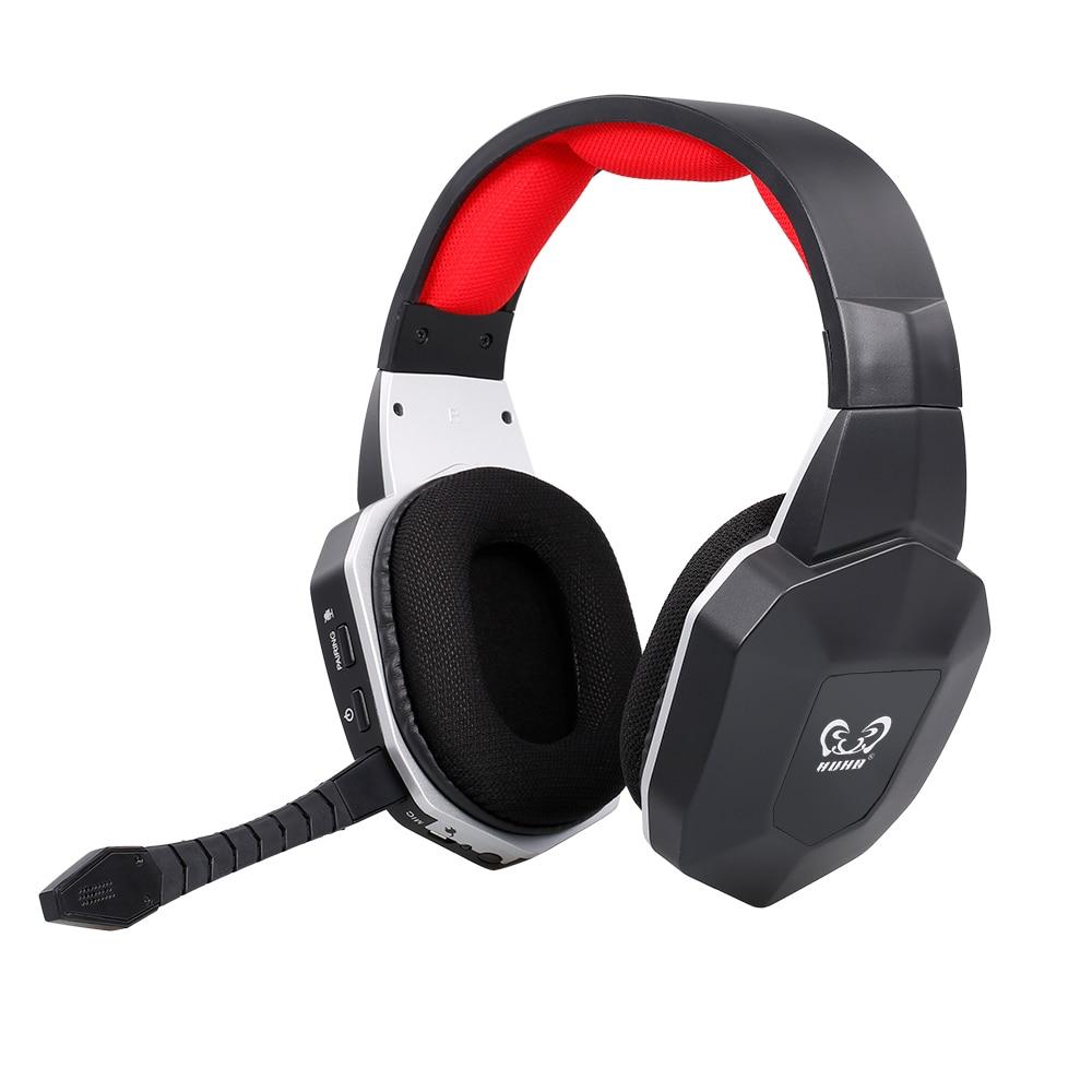 HW-N9U 2.4g sem fio jogos fone de ouvido virtual 7.1 surround som fone com microfone removível para ps4/pc gaming headset