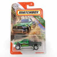 RAM WORK TRUCK Matchbox Car 1:64, cuerpo de Metal, coche de carreras, colección de aleación, regalo para el coche