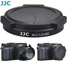 JJC กล้องป้องกันเลนส์อัตโนมัติสำหรับ Panasonic LUMIX DMC LX100 DMC LX100II LEICA D LUX (Typ 109) D LUX7 แทนที่ DMW LFAC1