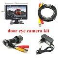 HD дверь глаз CCTV системы 2MP Рыбий глаз объектив 1080P AHD мини глазок камера с 7