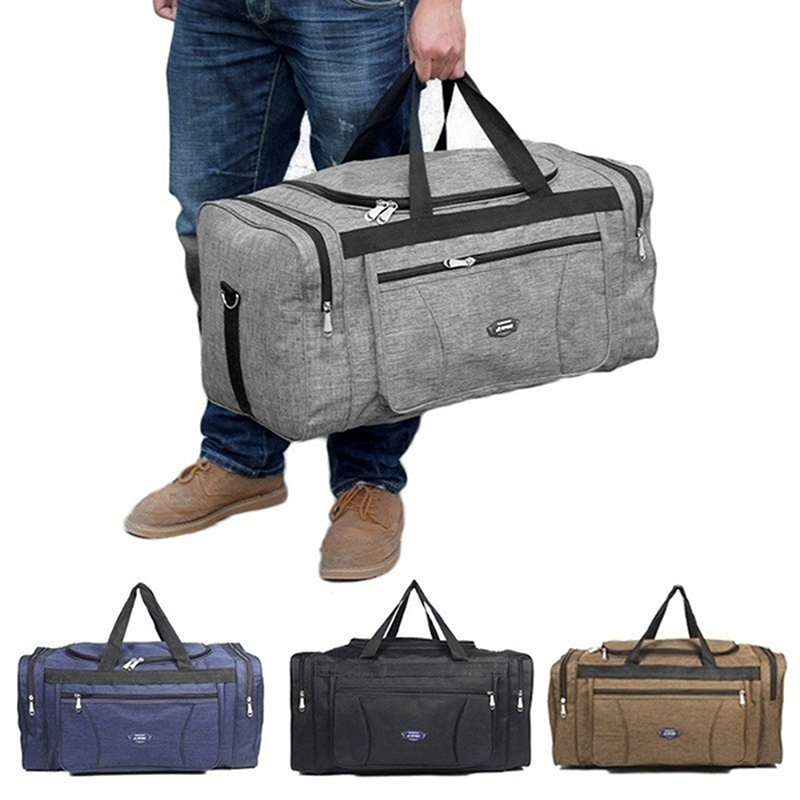 Oxford Waterproof Men Travel Bags Hand Luggage Big Travel Bag Business Large Capacity Weekend Duffle Travel Bag