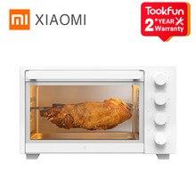 Xiaomi mijia fornos elétricos pizza assar microondas aparelhos de cozinha fogão elétrico forno de ar grill sincronismo 32l alta capacidade