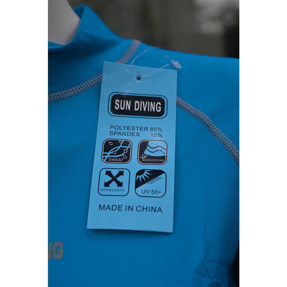 WYOTURN женская футболка с длинным рукавом для серфинга, сплошной синий купальник UPF50 Rashguard 2020