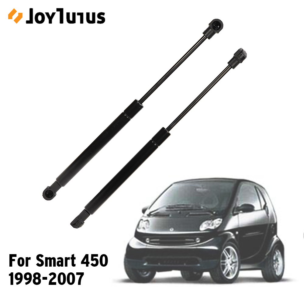 113000013 2pcs Trunk Lid Shock Strut Damper Lift Support Hydraulic Rod For Smart 450 City Coupe Fortwo 1998-2007