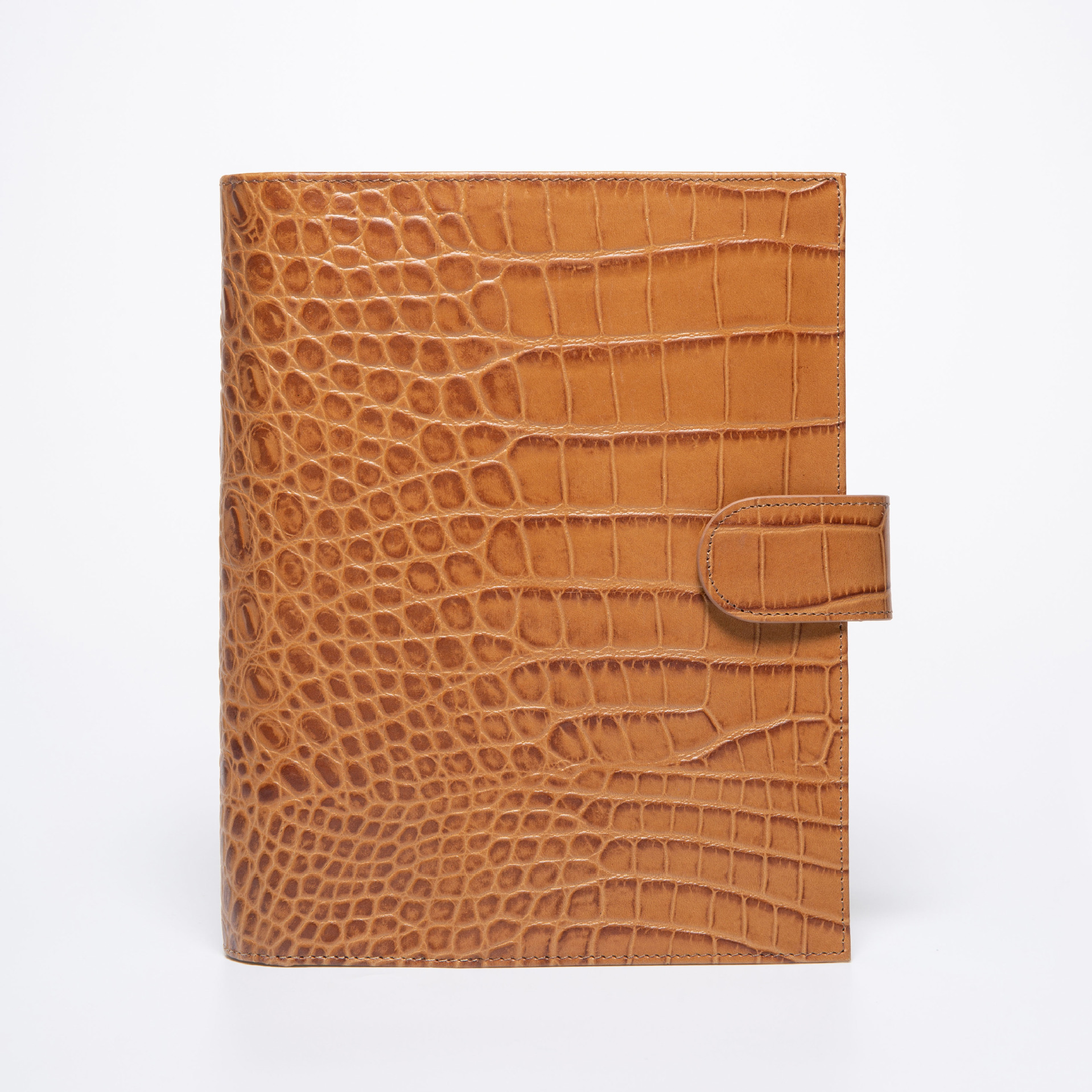 High Quality Genuine Leather Spiral Diary A5 96 Sheets Lined Notebook Journal Gift