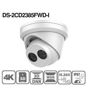 Image 3 - Hikvision Original IP Camera DS 2CD2385FWD I 8MP Network CCTV Camera H.265 CCTV Security POE WDR SD Card Slot Hikvision OEM