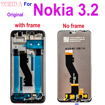 "цена на 6.2"" For Nokia 3.2 TA-1156 TA-1159 TA-1164 LCD Display Touch Screen Digitizer Assembly with Frame Replacement for Nokia 3.2 LCD"