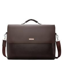 2020 موضة رجال الأعمال حقيبة جلدية حقيبة يد للحاسوب المحمول حمل حقيبة رجل عادية للذكور حقيبة كتف مكتب الذكور حقيبة ساعي