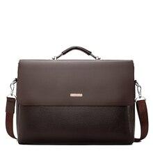 Serviette en cuir pour hommes, mallette 2020, sac à bandoulière, modèle sac à main pour ordinateur portable, sacoche de bureau, modèle décontracté