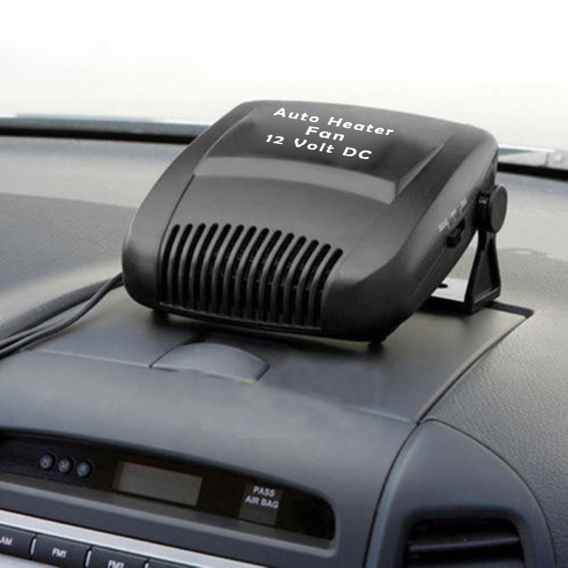 DC 12V 150W Car Portable 2 In 1 Ceramic Heating Cooling Heater Fan Defroster