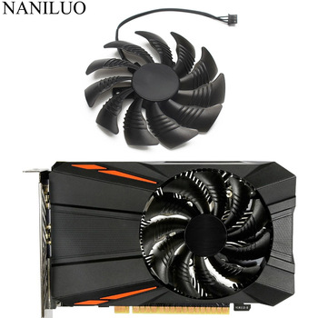 PLD09210S12HH 12V 0.40A Cooler Fan GTX1050 RX560 RX550 For Gigabyte Geforce GTX 1050 1050Ti RX 550 560 Mini ITX G1 Fan t129215su pld09210s12hh 3pin fan cooling replace for gigabyte geforce gtx 1050 ti for amd rx550 rx 560 fan mini itx g1