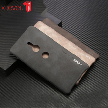 For Sony Xperia XZ4 X-level Vintage Leather Case for XZ2 Compact for XZ2 Premium for XA1 Plus for XA2 Ultra Plus for XA3 Ultra аксессуар чехол для sony xperia xz2 compact scth50 black