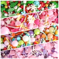 120g Food Colorings Edible Sugar Sprinkles Candy For Cake Decoration Tools Baking Ice Cream Cupcake Bakery Tools
