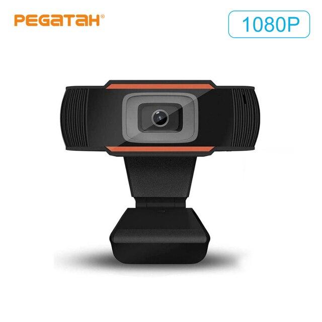Speaker Webcam 1080p Web Camera with Microphone PC Camera Full HD Webcam 1080p Web Cam for Computor Usb Camera With Webcam Cover 3