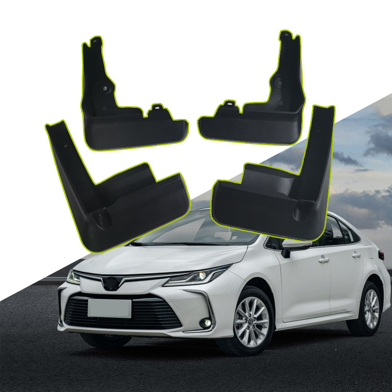 4Pcs/Set Car Mud Flaps Front Rear Mudguards For Toyota Corolla E210 4Dr Saloon Sedan 2019 Splash Guards Fender Mudflaps