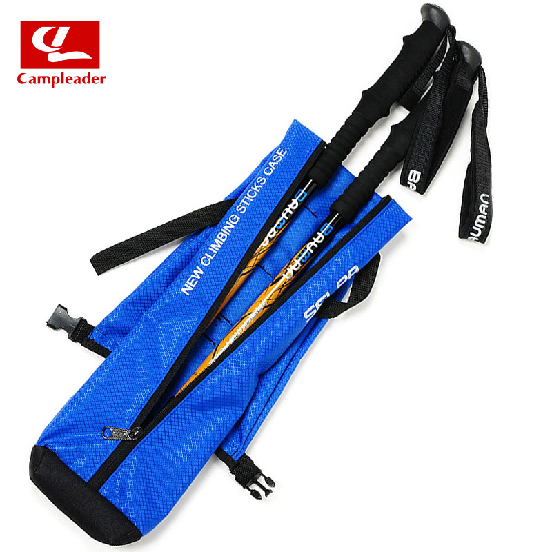 Selpa South Korea Outdoor Alpenstock Backpack Crutches Storage Bag Portable Foldable Trekking Pole Package Humanised Design
