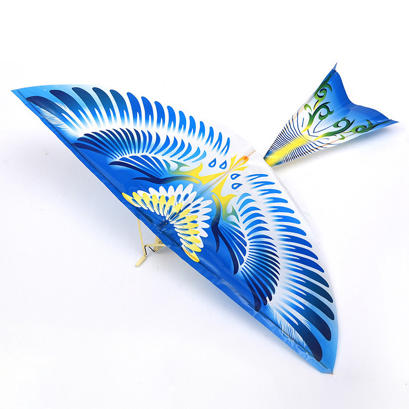 Elastic Rubber Band Powered Flight Birds Kite Kids Interactive Toy Gift Outdoor Fun Sports Fly Bird Kites Toy For Children Gifts