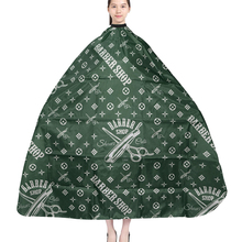 Salon Haircut Cape Hairdresser Apron High Quality Barber Waterproof Cloth Hairdressing Green Cutting