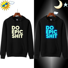 Doen Epic Shit 2019 Mode Hoodie Mannen Oversized Casual Homme Plus Size Trainingspak Winter Hoodies Mannen Sweatshirts Hoodie(China)