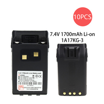 10X 7.4V 1700Ah Li-ion Battery For Walike Talkie KG-UVD1P, KG-UV6D, KG-659, KG-669, KG-679, KG-689, KG- 689 Plus, KG-699 Radio цена 2017