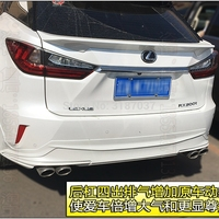 For Lexus RX200t RX450h 2016 2017 2018 ABS Plastic Unpainted Color Rear Roof Spoiler Wing Trunk Lip Boot Cover Car Styling