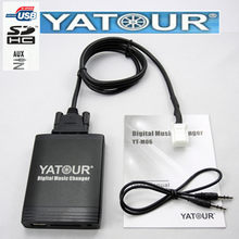 Yatour áudio para toyota harrier avensis yaris matriz vitz carro leitor de música usb adaptador digital cd changer sd aux yt-m06 6 + 6(China)