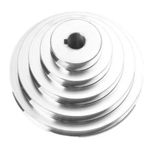 Pulley-Wheel for V-Shaped Timing-Belt 150mm 5-Step Pagoda Outer-Diameter A-Type Aluminum