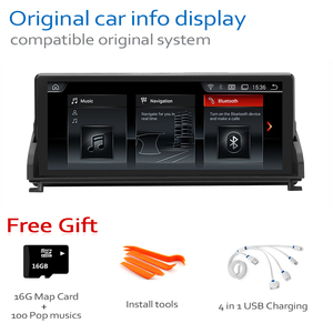 Image 5 - Car Radio DVD Player For BMW Z4 E89 2009~2018 CIC Android 8.0 up Autoradio GPS Navigation HD Touch Screen