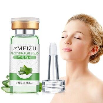 Esencia blanqueadora de Aloe Vera, esencia líquida de ácido hialurónico, hidratante, brillante,...